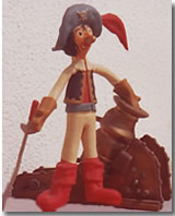 un pupazzo-gadget raffigurante Pepito