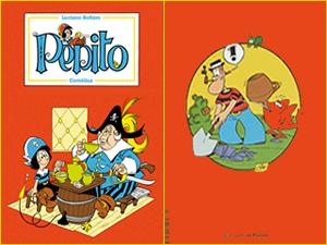 La copertina di Pépito