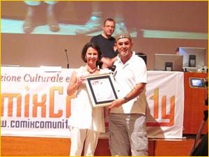 Annabella Bottaro premia Casty