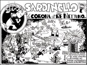 una delle vignette bottariane