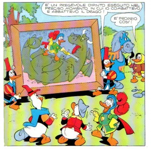 Vignetta pubblicata con nome Bottaro cancellato