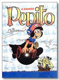 uno dei tanti volumi dedicati a Pepito